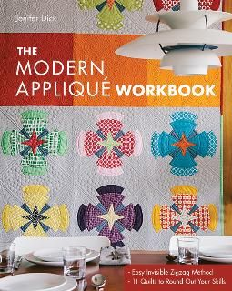 The Modern Applique workbook New from C&T Publishing # 11006