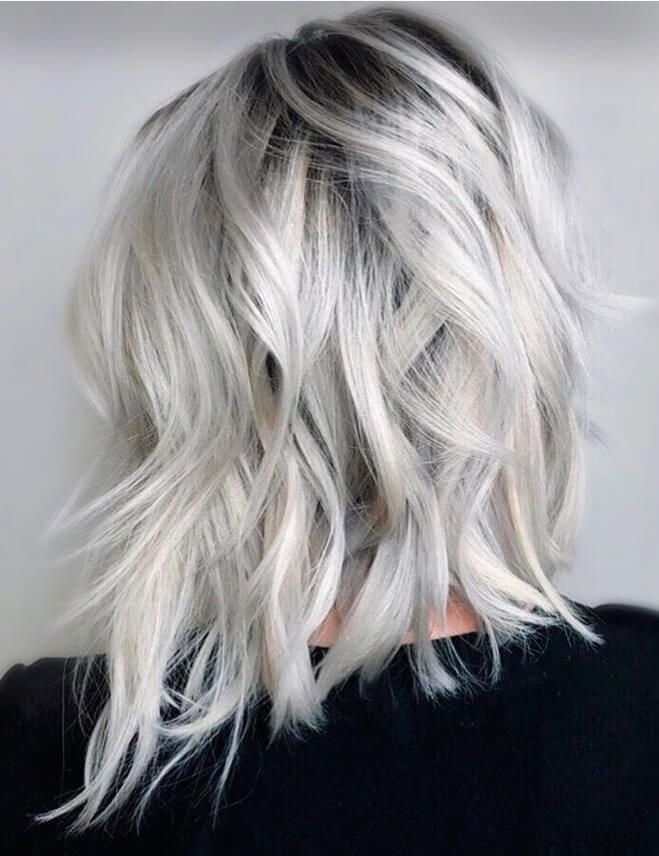 50 beautiful styles to increase your Platinum Blonde Hair