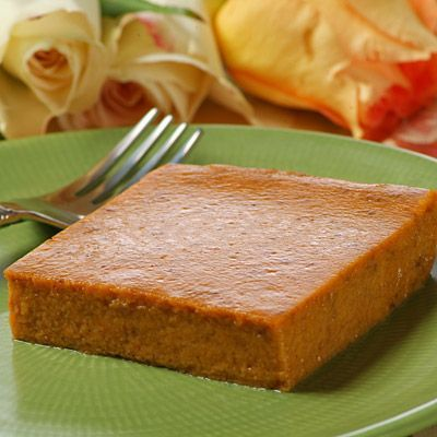 Patty's Pumpkin Pudding ~ excellent ~ tastes just like Pumpkin Pie but without the crust