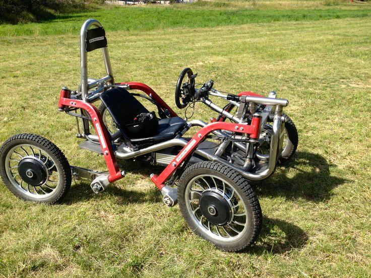 Essai Swincar à Serre Chevalier, kart électrique 4 roues motrices.