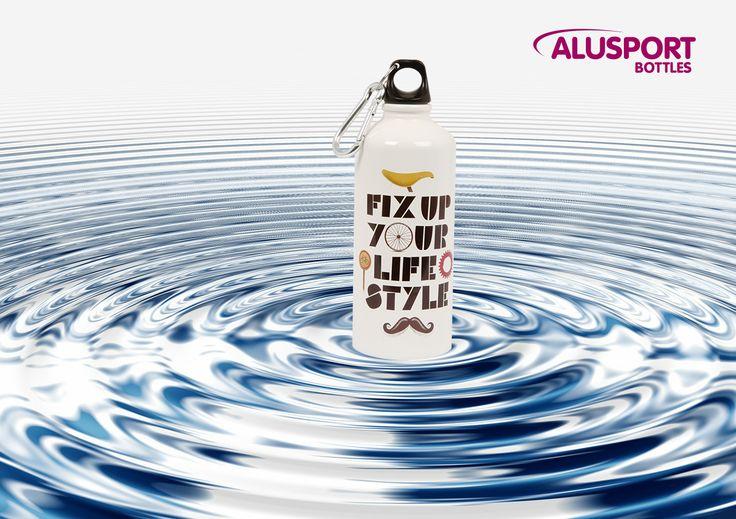 El consejo de la semana: No esperes a tener sed. Hidrátate antes, durante y después del ejercicio. #Alusportbottles #bottles #alusport #water #model