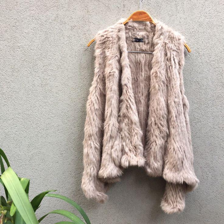 A personal favourite from my Etsy shop https://www.etsy.com/au/listing/229153254/rabbit-fur-vest-rabbit-fur-top-called