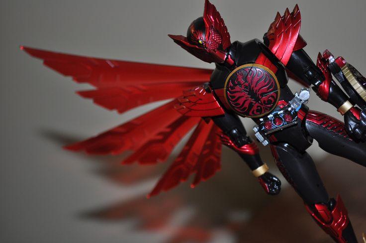 S.H. Figuarts Kamen Rider OOO TaJaDor combo