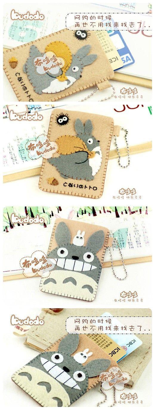 funda para tarjetas de credito de TOTORO