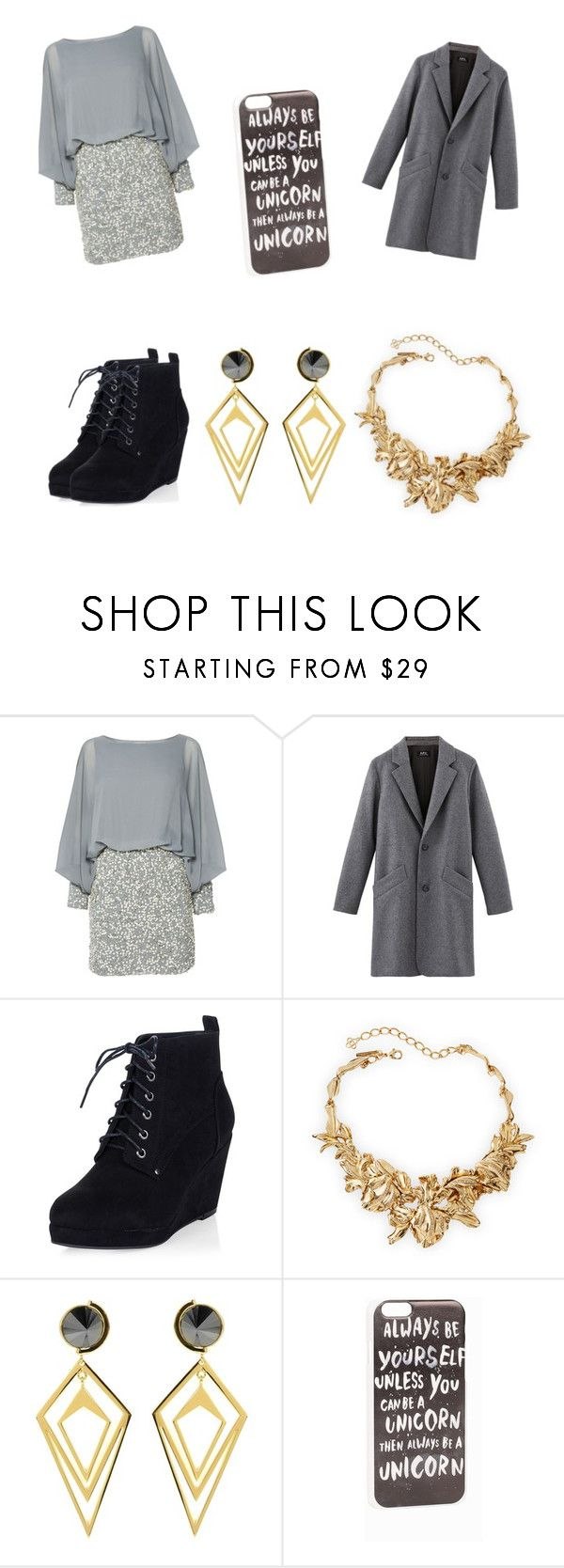 """""""#12"""" by bts-got7-block-b ❤ liked on Polyvore featuring Lace & Beads, Oscar de la Renta, Sarah Magid, JFR, women's clothing, women, female, woman, misses and juniors"""