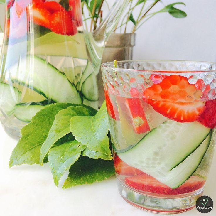 Água Aromatizada e Vitamínica | Natural Vitamin Water -- Vegan