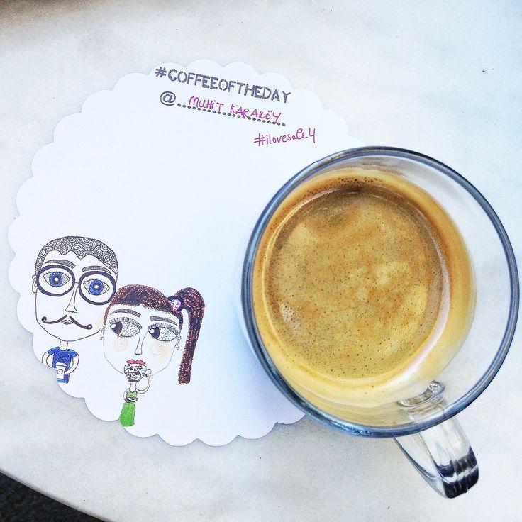 Karaköy - Muhit, #coffeeoftheday @ #ilovesale4