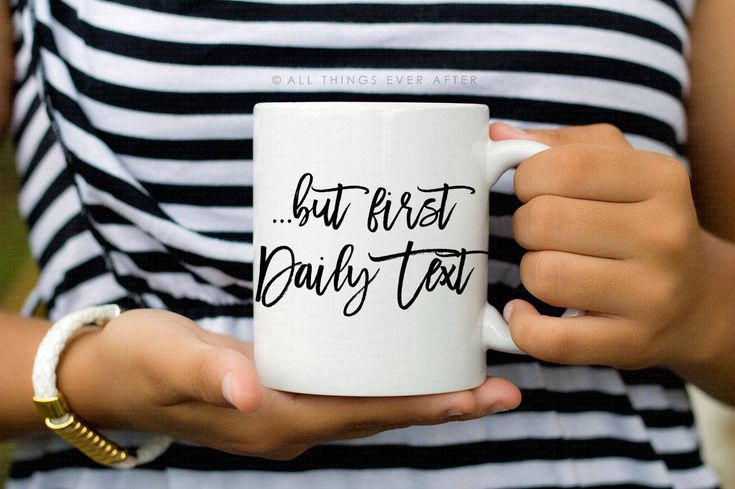 Jehovah's Witness Gift | But First Daily Text | JW | MUG | Coffee Cup | I love Coffee | Elder's | Gift | Baptism | Present | Jw Org by AllThingsEverAfter on Etsy