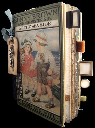 Altered Book - Travel Journal - Rebecca Sawyer...