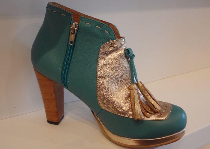 botines, cuero, moda, calzado, zapatos, belleza, Camomille, Caduto