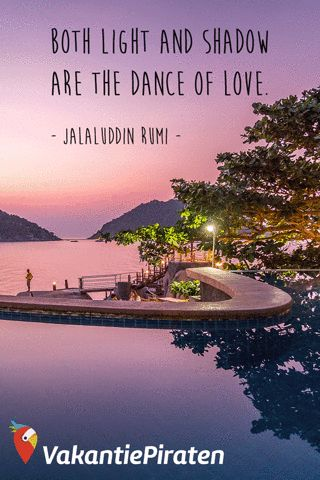Both light and shadow are the dance of love