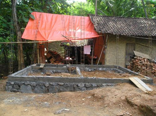 VJM built 44 Permanat houses for Jogjakrta  and central Jawa Earthquake victims