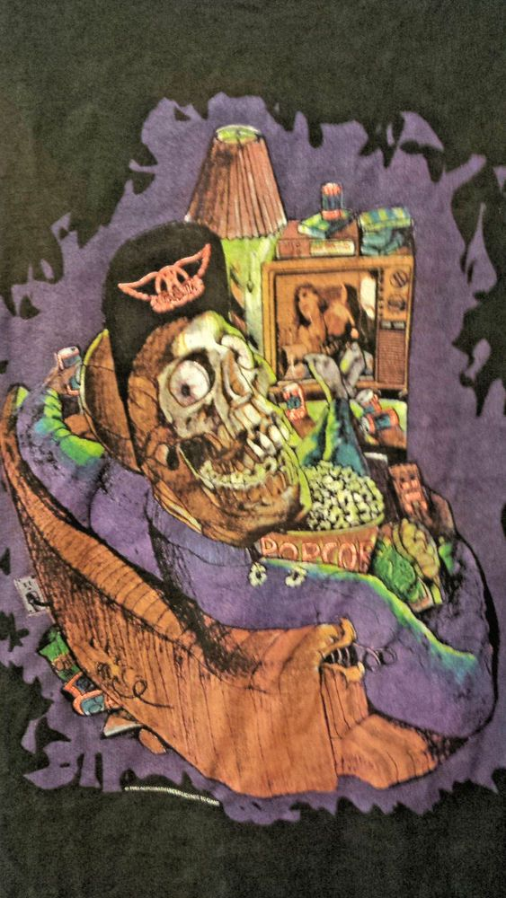 Vintage AEROSMITH Promotional 1993 concert t-shirt XL NWOT GET A GRIP! #GIANT