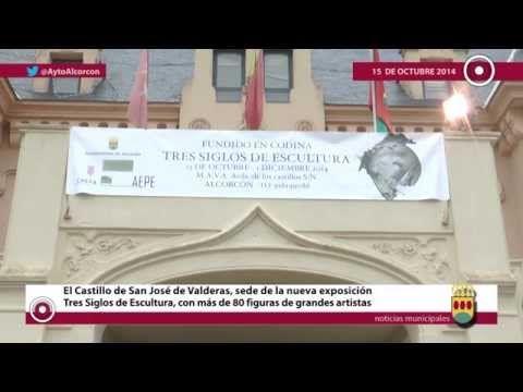 """El Castillo de San José de Valderas, sede de la exposición """"Tres Siglos de Escultura"""" en #Alcorcón - YouTube"""