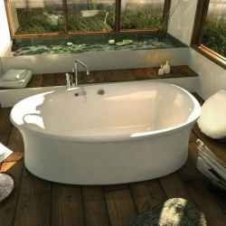 Luxury Bathroom Design With Ambrosia Freestanding Bathtub Design By Pearl  Baths Listed In Comfy Bathroom With Bathtub Stand Alone Ideas