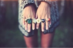 : Bling, Statement Rings, Fashion, Style, Chunky Rings, Jewelry, Things, Jewels, Accessories