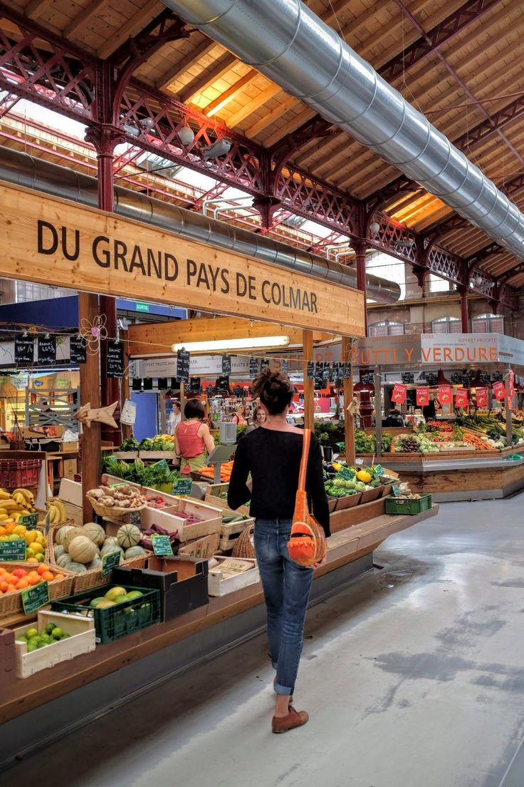 Colmar Markthalle - Alsace (France) - photography - travel Ⓒ PASTELPIX