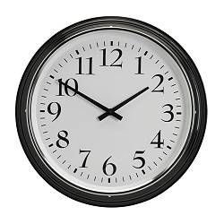 BRAVUR Wall clock - IKEA. $35 family price right now. My parents have this clock. It's nice and big.