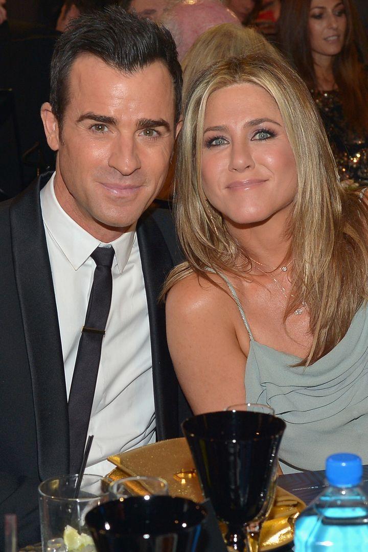 Jennifer Aniston and Justin Theroux Smolder at the Critics' Choice Awards