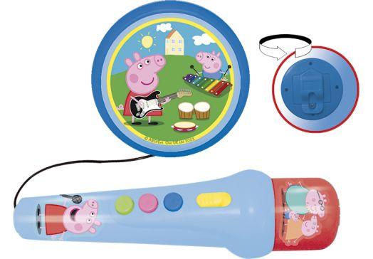 Micrófono con amplificador Peppa Pig