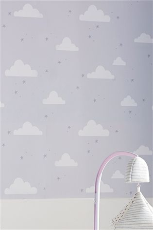Buy Clouds Wallpaper from the Next UK online shop