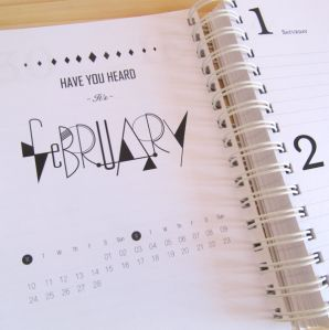 February inside our 2014 Diary