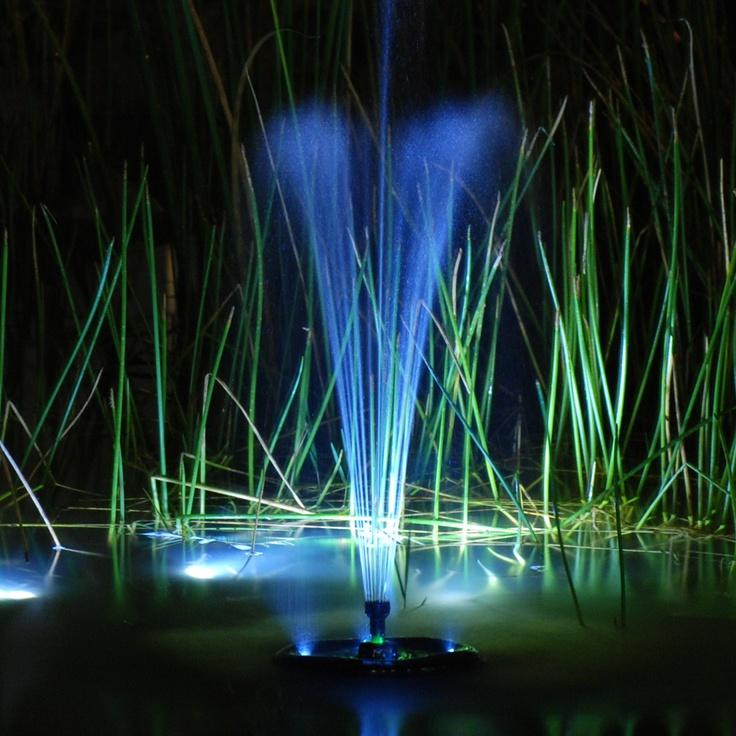 Floating UV Filter with Pump Pond aerator, Pond lights