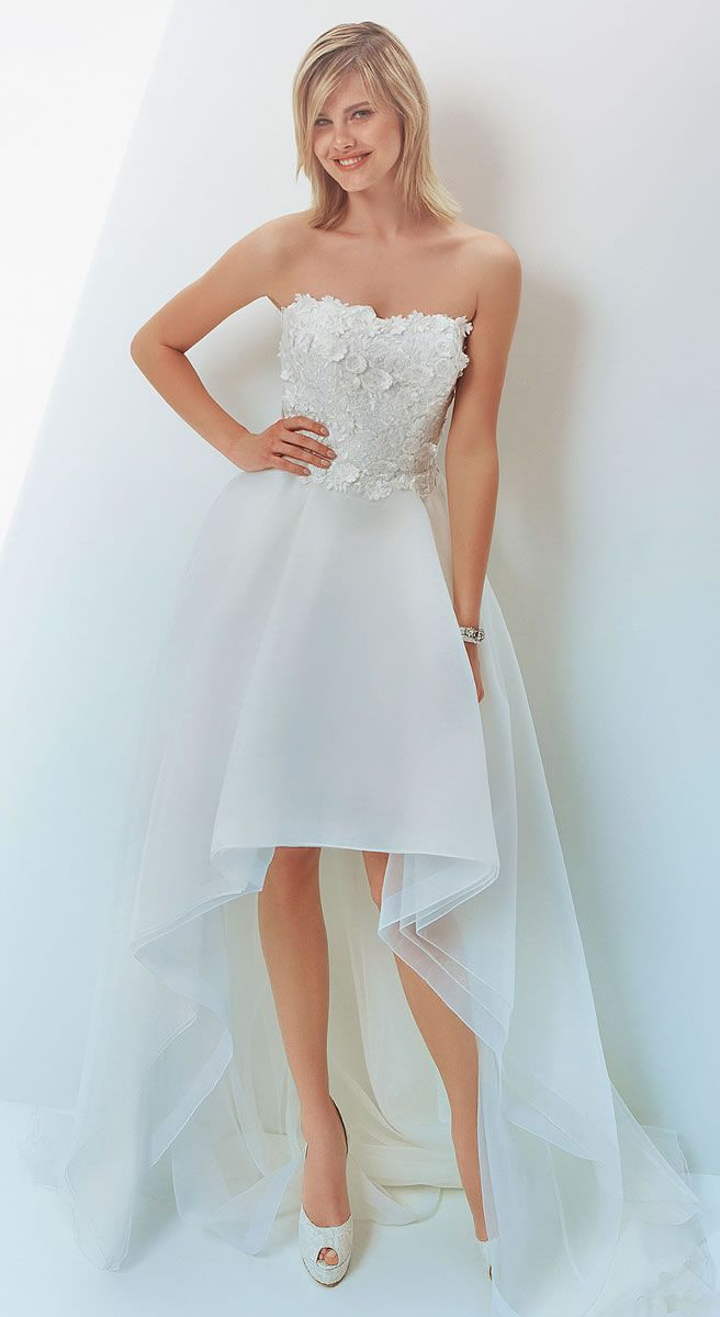 The 941 best Short Wedding Dresses images on Pinterest