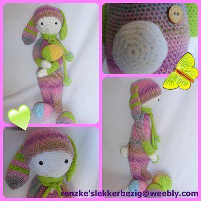 Deze Rita is te koop via http://renzkeslekkerbezig.weebly.com/gehaakte-lalylala-poppen.html