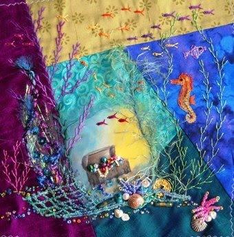 Crazy quilt inspiration