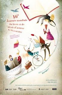Día internacional del libro y los derechos de autor. Canadá, 2011.