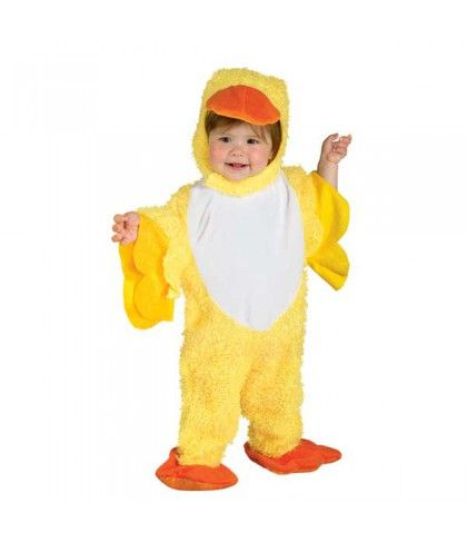 Παπάκι στολή για μικρά παιδιά μικρό κίτρινο Παπί