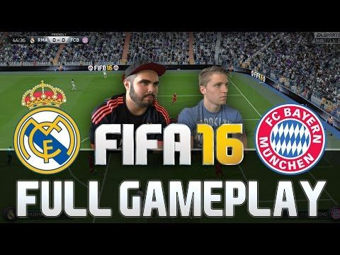 http://www.fifa-planet.com/fifa-16-gameplay/fifa-16-real-madrid-vs-bayern-munchen-full-gameplay-hd-60fps-ps4-xbox-one/ - FIFA 16 REAL MADRID VS BAYERN MÜNCHEN FULL GAMEPLAY [HD+ 60FPS PS4 / XBOX ONE]  FIFA 16 DEFENDING TUTORIAL: This is a FIFA 16 FULL GAMEPLAY video of Real Madrid vs Bayern München (Bayern Munich). Santiago Bernabeu is waiting! Goals, Skills and more – make sure to LIKE, SUBSCRIBE and SHARE this video with your friends!  Fifa 16 FUT Draft feat. Ronal