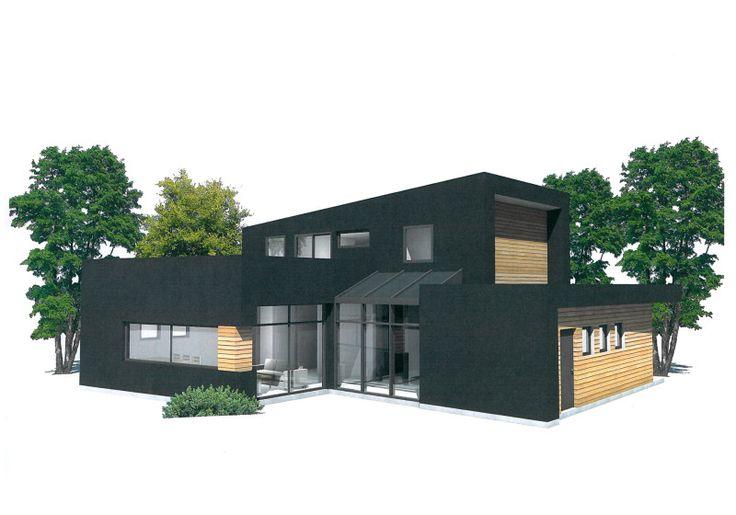 Vi bygger moderne, funkishus tilpasset dine individuelle behov. Våre husdesignere er med på hele prosessen, fra idé til ferdig bolig.
