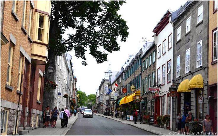 Quebec City Street Scenes on Food tour1