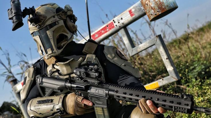 Американцы разрабатывают настоящую броню штурмовика из «Звездных войн»