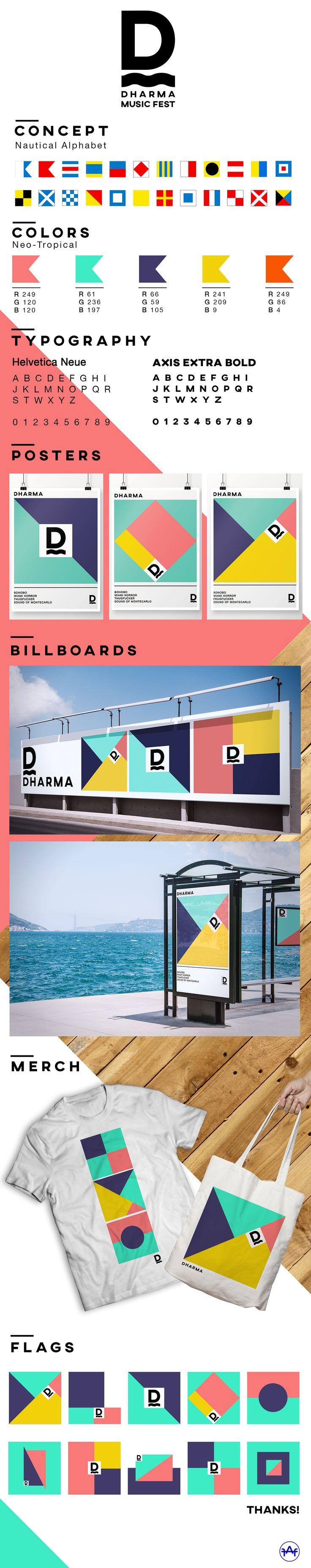 DHARMA ART & MUSIC FESTIVAL on Behance                              …