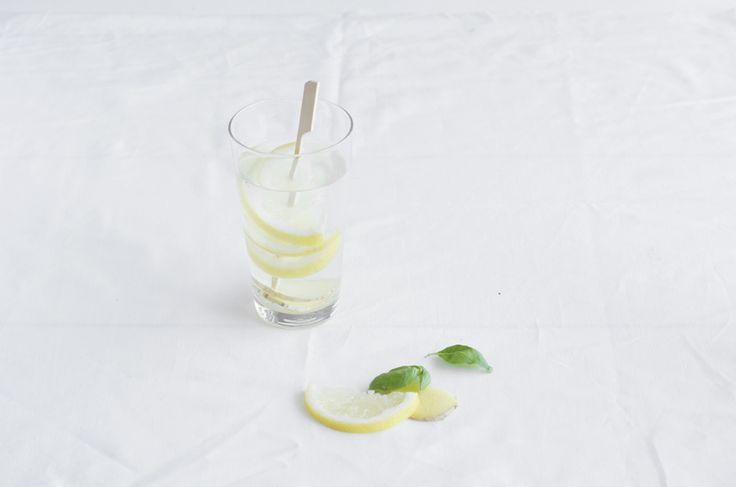 Gember citroen water