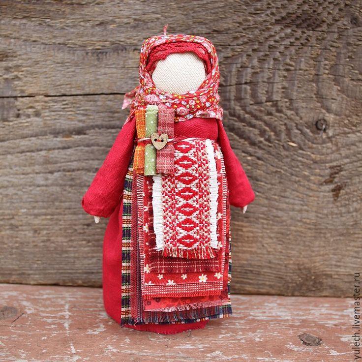 """Купить Народная русская куколка """"Параскева"""" - разноцветный, народная кукла…"""