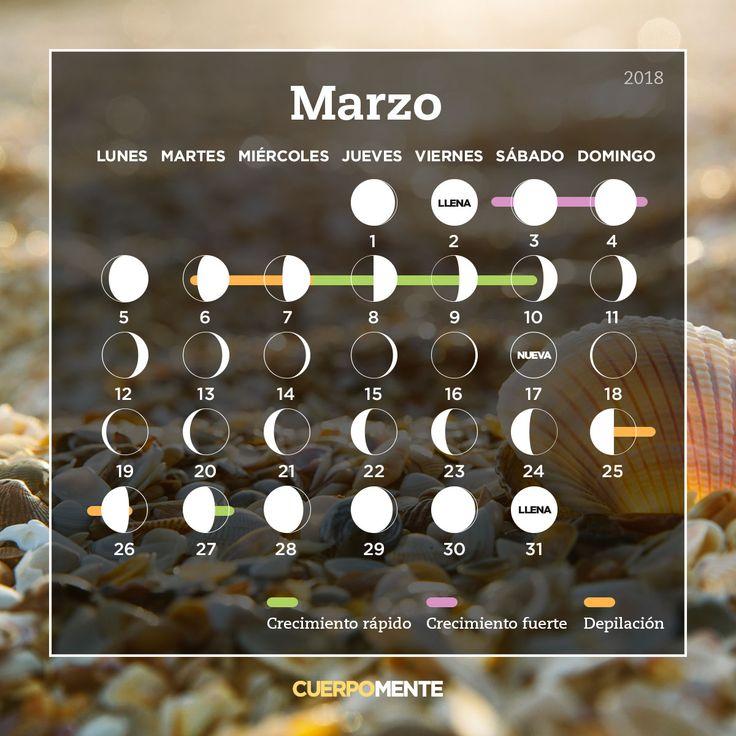 Calendario lunar de marzo
