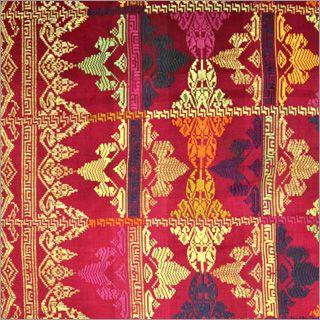 Vintage Silk Songket, Bali.