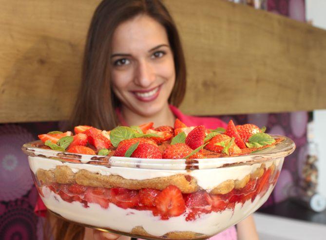 Sallys Tortenwelt und Kochwelt: einfaches und schnelles Erdbeer-Tiramisu