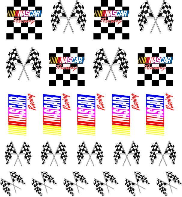 Nail Apparel - NASCAR | Nail Decals, $4.00 (http://nailapparel.net/nascar-nail-decals/)