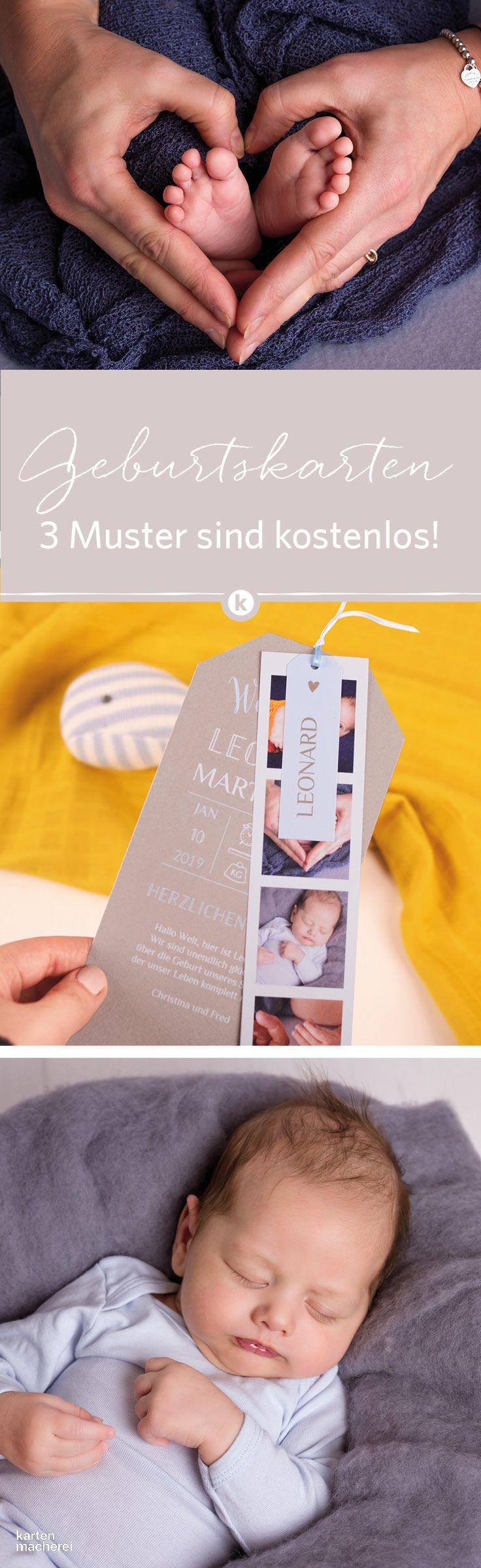 ✨✨✨Du suchst die perfekte Karte zur Geburt? Klick dich durch unsere Babypapeterie! ✨✨✨ PS: Jetzt gratis Musterkarten bestellen!