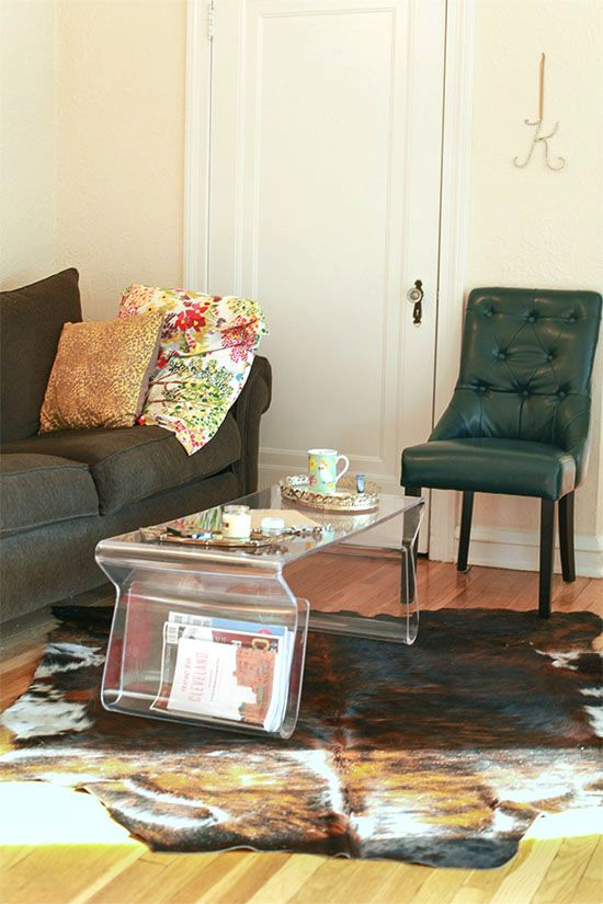 Seating area | a look into the Cleveland apartment