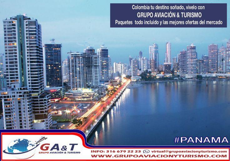 Conoce Colombia y el mundo con Grupo Aviación & Turismo. entra ya a http://goo.gl/sCT1TM