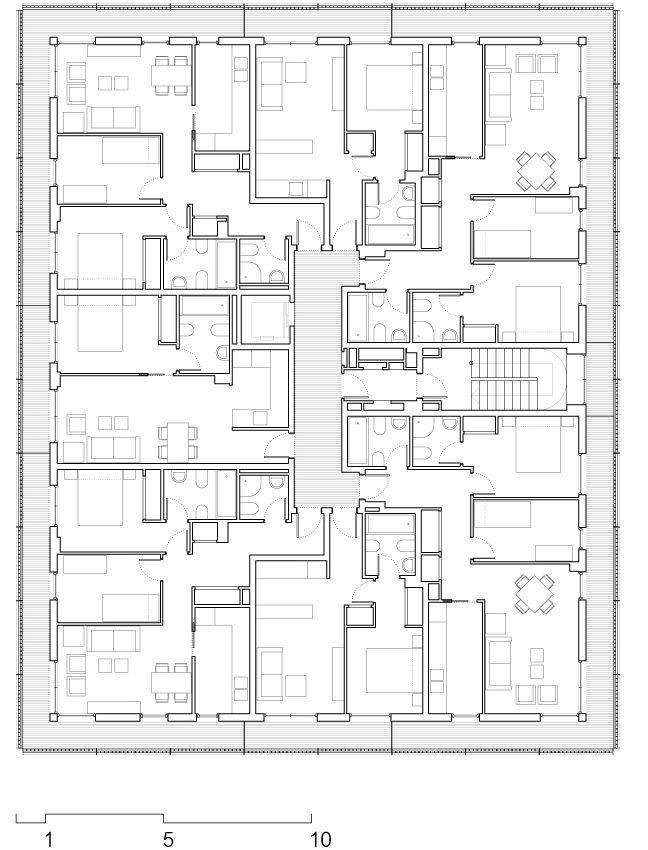 Social Housing at Boera Park / Peñín Architects + OAB + Edifica