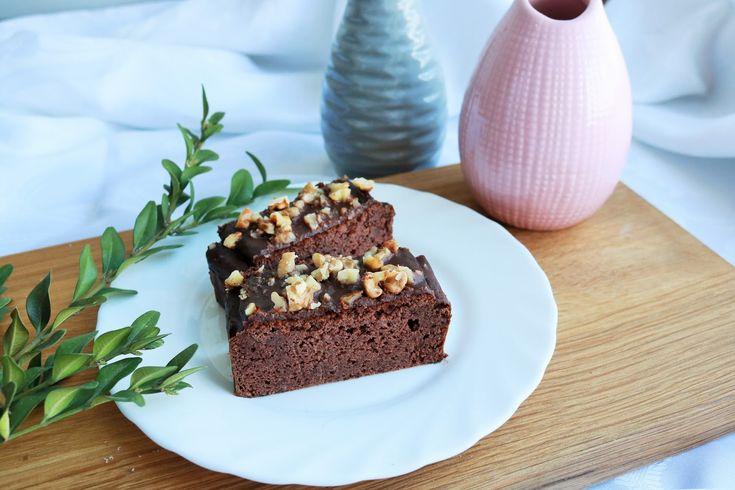 brownie z czerwonej fasoli dietetyczne