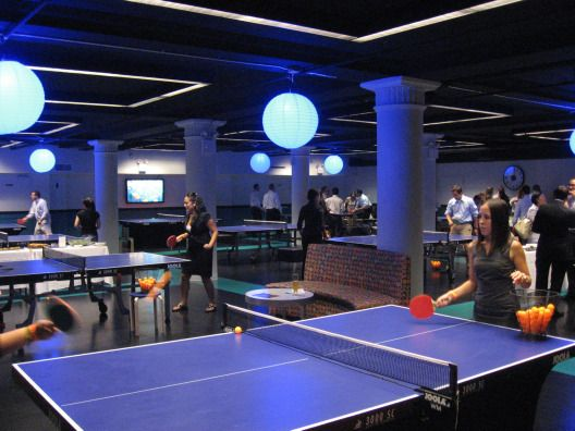 501 best table tennis images on pinterest tennis championships table tennis player and tennis - Space needed for a ping pong table ...