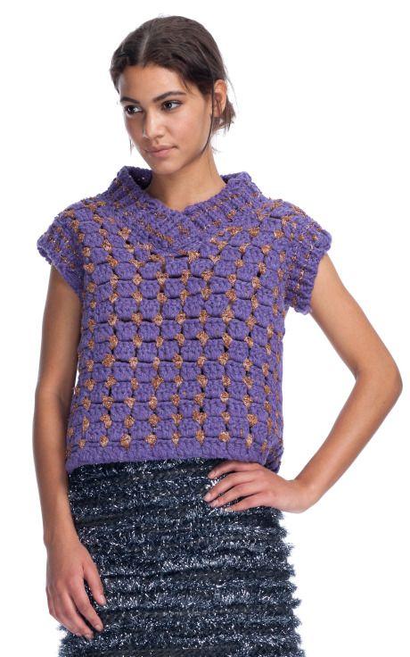 "Marc Jacobs ""Hand Knit Crochet Sweater"" $1,100"
